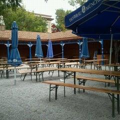 Photo taken at Hofbräuhaus Newport by Jayne E. on 8/16/2012