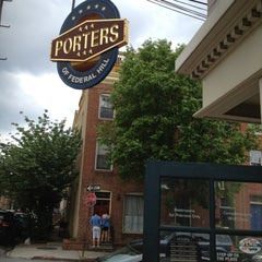 Photo taken at Porters Pub of Federal Hill by CITYPEEK Patti on 5/5/2012