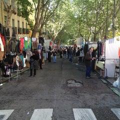 Photo taken at Rastro de Madrid by VICTORIA G. on 5/6/2012