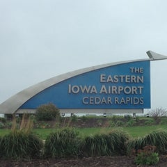 Photo taken at The Eastern Iowa Airport (CID) by Danelle W. on 4/28/2012