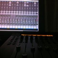 "Photo taken at Prosantana Recording Studio, Creative Gallery by Carlos ""Charlie"" S. on 5/21/2012"