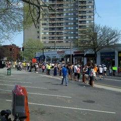 Photo taken at Marathon Monday 2012 by Marcus J. on 4/16/2012