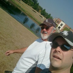 Photo taken at The Oaks Disc Golf Course by Andrew Z. on 7/16/2012