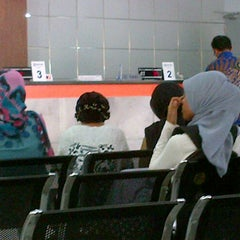 Photo taken at Bank BRI by Toen W. on 9/13/2012