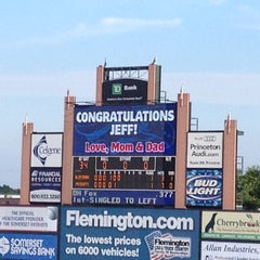 Photo taken at Somerset Patriots Baseball @ TD Bank Ballpark by Natalie S. on 7/27/2012