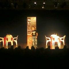 Photo taken at Teatro Monte Calvário by Vítor D. on 2/4/2012