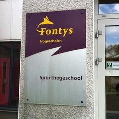 Photo taken at Fontys Sporthogeschool by Robbert v. on 4/25/2012