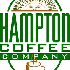 Photo taken at Hampton Coffee Company by Jason B. on 6/11/2012