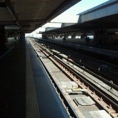 Photo taken at Estação Carandiru (Metrô) by Mateus A. on 8/18/2012