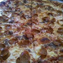 Photo taken at Capri Pizza by Trista H. on 4/17/2012