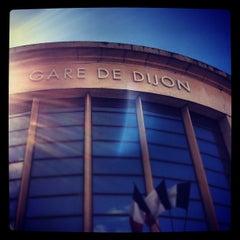 Photo taken at Gare SNCF de Dijon Ville by Bertrand M. on 5/13/2012