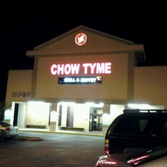 Photo taken at Chow Tyme Grill & Buffet by Joseph E. on 2/21/2012