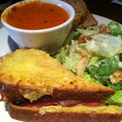 Photo taken at la Madeleine Country French Café by Donna Mc on 5/19/2012