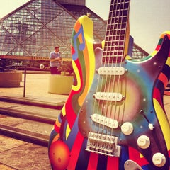 Photo taken at The Rock and Roll Hall of Fame and Museum by Kate L. on 6/30/2012