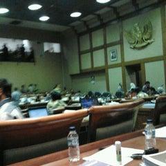 Photo taken at Ruang Rapat Badan Anggaran DPR RI by Axa on 3/24/2012