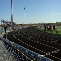 Photo taken at Naperville North High School by Mary A. on 4/11/2012