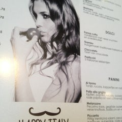 Photo taken at Happy Italy by Fedra A. on 3/18/2012