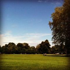 Photo taken at Ravenscourt Park by Backpacker Jam on 6/26/2012