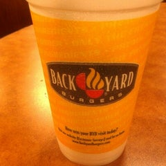 Photo taken at Back Yard Burger by Mark ® T. on 8/20/2012