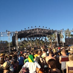 Photo taken at Coachella Outdoor Theatre by Cyndie C. on 4/22/2012