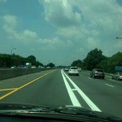 Photo taken at Long Island Expressway (LIE) (I-495) by Kris on 8/9/2012