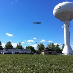 Photo taken at Millennium Field - Streamwood High School by Austin on 9/9/2012