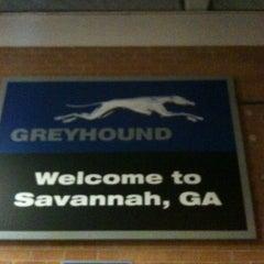Photo taken at Savannah Greyhound Station by Donna W. on 8/7/2012