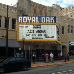 Photo taken at Royal Oak Music Theatre by Andrew B. on 5/5/2012