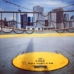 Photo taken at Governors Island Ferry by doug j. on 8/25/2012