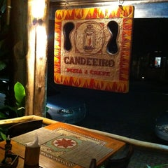 Photo taken at Candeeiro Pizza & Crepe by Rosi T. on 9/3/2012