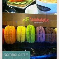 Photo taken at Sambalatte Torrefazione by Cathy V. on 9/8/2012