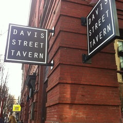 Photo taken at Davis Street Tavern by Chelsea H. on 3/9/2012