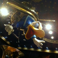 Photo taken at Mickey's PhilharMagic by Bill D. on 3/1/2012