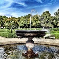 Photo taken at Hofgarten by Francesco V. on 8/24/2012