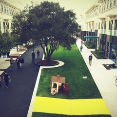 Photo taken at Facebook HQ by Sabrina M. on 8/31/2012