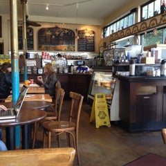 Photo taken at Cole Valley Cafe by Raha on 3/19/2012