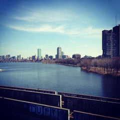 Photo taken at Boston University Bridge by Emily L. on 3/12/2012