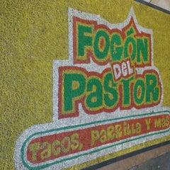 Photo taken at El Fogón Del Pastor by Humberto P. on 8/14/2012