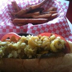 Photo taken at Burger 25 by Kriss K. on 8/16/2012