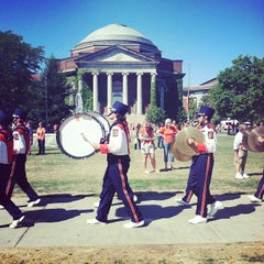 Photo taken at Syracuse University Quad by Patrick L. on 9/1/2012