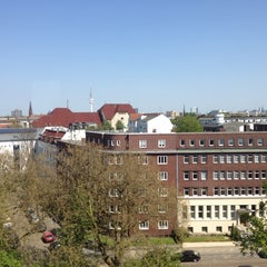 Photo taken at MEININGER Hotel Hamburg City Center by Const I. on 5/2/2012