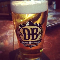 Photo taken at Devils Backbone Brewing Company by Marie E. on 8/4/2012