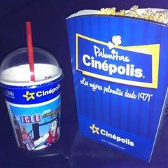Photo taken at Cinépolis by Marilyn J. on 7/12/2012