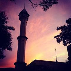 Photo taken at Masjid Saidina Umar Al-Khattab by Ib S. on 4/21/2012