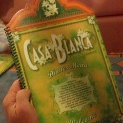Photo taken at Casa Blanca Mexican Restaurant & Cantina by Josh H. on 8/1/2012