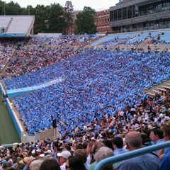 Photo taken at Kenan Memorial Stadium by Kelvin A. on 5/13/2012