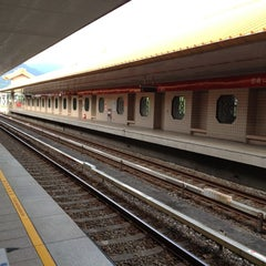 Photo taken at 捷運忠義站 MRT Zhongyi Station by Irvin C. on 7/7/2012