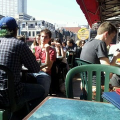 Photo taken at Sir Winston Churchill Pub by Lisa K. on 3/20/2012