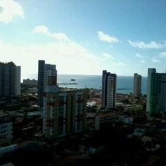 Photo taken at Praia Centro Hotel Fortaleza by Bruno S. on 6/21/2012