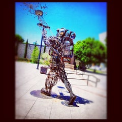 Photo taken at California African American Museum by Karlyn F. on 8/26/2012